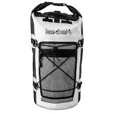 Lextek Waterproof Motorcycle Scooter Luggage Dry bag Tail Seat bag Backpack 30L