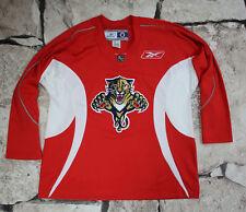 REEBOK CCM _ FLORIDA PANTHERS _ ICE HOCKEY trikot JERSEY NHL SIZE L ( 603 )