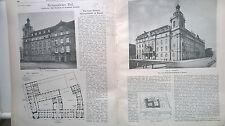 1908 69 Polizei Kassel / Schäden Kölner Dom Köln / Duisburg Ruhrort Hafen