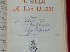 ALEJO CARPENTIER / EL SIGLO DE LAS LUCES / TRES RARE EO 1962 Mexico Inscribed