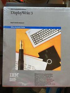 Vintage  IBM Display Write 3 - New Old Stock IBM P/N 6322850