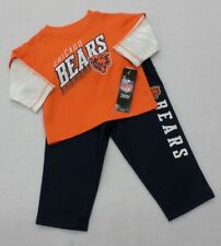 NFL Chicago Bears  Infant Boys Orange and Navy Off The Field Pants Set 24 M