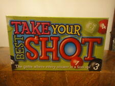 New Box Board Game Take Your Best Shot Ages 10 and Up Speech Therapy Fun English