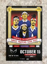 Chance The Rapper 2015 Concert Promo Handbill St. Paul Minneapolis Myth Live
