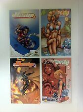Hyperwerks Deity Comic Book Lot of 4 #1, #3, #4, #6 - (#F - 107)