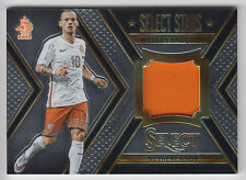 WESLEY SNEIJDER 2015 Panini Select Soccer Select Stars JERSEY #/199 Netherlands