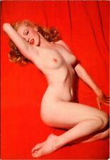 Nude Marilyn Monroe Dec 1953 Playboy photo repro Postcard 1995–iconic