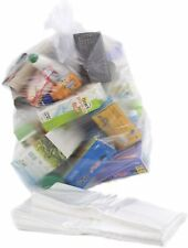 More details for bin liners rubbish bags  recycling sacks refuse strong size 18 x 29 x 39 l clear