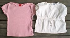 LOT  de 2 t-shirt top  fille ** TEX & KID COOL ** TAILLE 6 ANS bon état !!