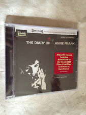 THE DIARY OF ANNE FRANK MUSIC BY ALFRED NEWMAN RGM-0130 2013 SOUNDTRACK