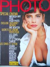 PHOTO Francese  n°260 1989 - Mathilda MAY cover - [C65]