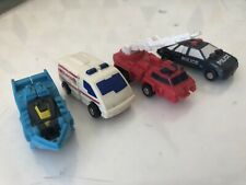 TRANSFORMERS G1 MICROMASTERS RESCUE PATROL ACTION FIGURE SET HASBRO TAKARA
