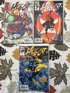 Hellcat 1-3 Complete NM 2000 Englehart, Breyfogle Avengers, Jessica Jones