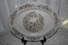 Sampson Bridgwood China ASHINGTON Oval Serving Plate England Made