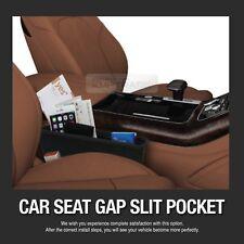 Black Catcher Box Caddy Holder Car Seat Slit Cap Pocket Storage for All Vehice