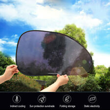 386E Car Accessories Windshield Sunshade 2pcs Static Cling Car-Styling Vehicle