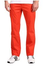Adidas SLVR Orange Basic Men's Pants Size XL 83525