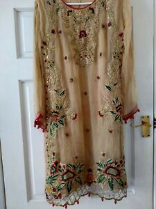 Asian Pakistani Indian Kameez Salwar Suit  Party Wedding Wear.