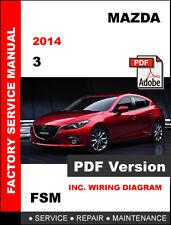 best manual ebay stores rh ebay com 2014 mazda 3 service manual v1.3 mazda 3 2013 service manual
