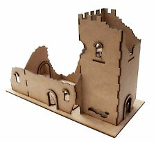 28 mm Norman Church Ruin laser cut in 2 mm MDF