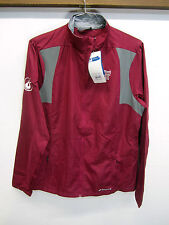 NWT $90 Brooks Windbreaker Jacket Rock'n'Roll Marathon San Antonio maroon sz 2XL
