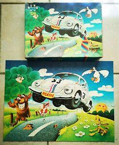 Vintage Disney Puzzle HERBIE Par Schmidt 126 Pièces Complet