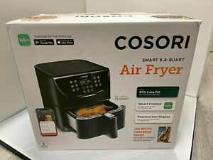 COSORI SMART WIFI AIR FRYER 5.8QT - 1700W - 11 PRESETS - TOUCHSCREEN - BRAND NEW