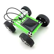 1Pcs Solar Toy DIY Car Children Educational Puzzle IQ Gadget Hobby Robot NEW