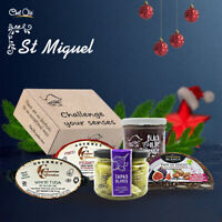 St Miguel Gourmet Gift Box.5 Artisan Appetizers.Tapas Time a Divine Choice