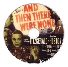 And Then There Were None (1945) Crime, Drama, Mystery Movie on DVD