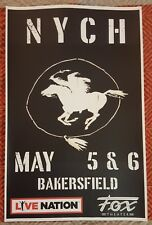 Neil Young Bakersfield Promo Poster May 5 & 6, 2018 Fox Theater CSNY