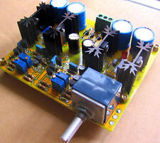 Assembled preamp board base on JC-2 circuit.(Class A parallel power supply)