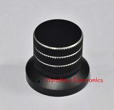 10ps Black Solid Aluminum Knob 40x33 mm Potentiometer Alps volume control amp