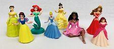Disney Princess PVC Plastic Figure Cake Topper Cinderella Ariel Snow White Belle