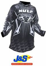 Vêtements de cross noirs Wulfsport