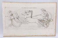 The Iilad Homer Odyssey Engraving John Flaxman 1805 Juno Minerva Assist Greeks