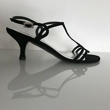 sandali STUART WEITZMAN nero 38 nuovo BLACK sandals