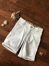 Burberry Kinder Baby Shorts Kurze Hose 3  - 4 Jahre 98 / 104 cm Weiß Nova Check