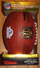 NIB Rare US Bank Stadium Inaugural Authentic NFL Game Ball 'The Duke' Wilson