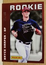 2012 Panini National Convention Bryce Harper RC /499 Nationals