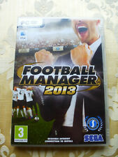 Football Manager 2013 PC CD-ROM Video Juego UK PAL