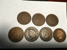 1901 OLD INDIAN HEAD CENTS (7 TOTAL COINS)