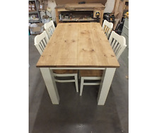 130 X 80 CM RECLAIMED PAINTED ROUGH SAWN TABLE BESPOKE SIZES & COLOURS