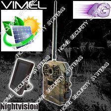 Trail Camera 4G Vimel Wireless Farm Solar Security 3G Waterproof Night Vision