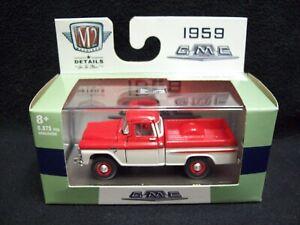 M2 Machines Auto Trucks 1959 GMC Fleetside Truck Limited Edition.