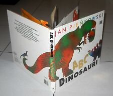 JAN PIENKOWSKI ABC Dinosauri - Mondadori 1 ed 1993 Libro Pop Up 3D popup dei