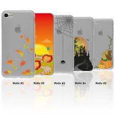 Schutzhülle mit Herbst Motiven Cover Case Silikon Tasche Schale + Display-Schutz