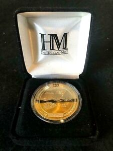 NFL SB 55 Buccaneers vs Chiefs Gold Mint Flip Coin by Highland Mint Numbered