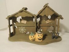 Calico Kittens Halloween House Displayer 10 Inch length #655562 w/ Box