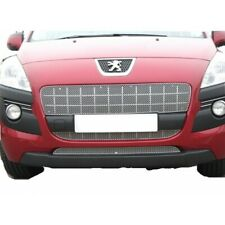 ZUNSPORT SILVER FRONT GRILLE SET for PEUGEOT 3008 2008-12 ZPE39909